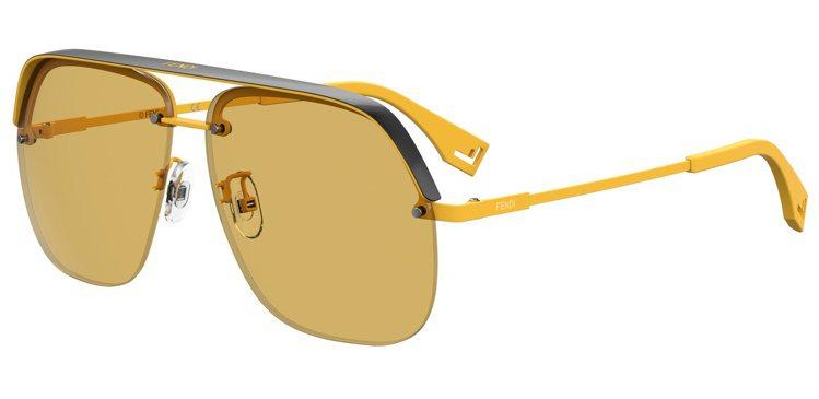 FENDI PACK太陽眼鏡約12,000元。圖/FENDI提供