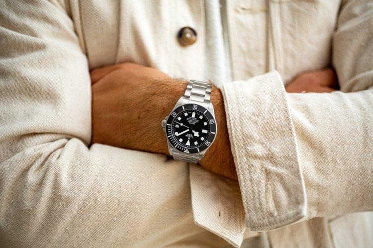 簡潔、精準、精密,讓TUDOR Pelagos腕表帶來日常的信任感。圖 / TU...