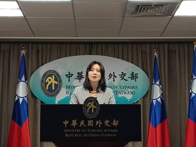 外交部發言人歐江安。圖/聯合報系資料照片