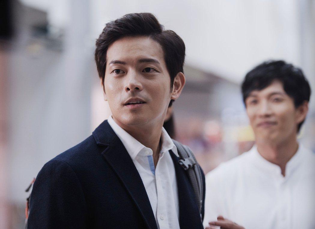 宥勝在「戒指流浪記」中飾演保險精算師。圖/HBO Asi