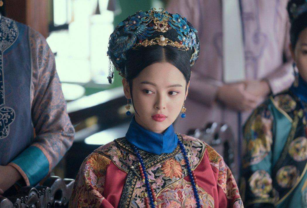 辛芷蕾在「如懿傳」中飾嘉貴妃。圖/中視提供