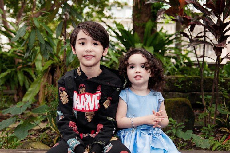H&M再次與最受小朋友喜愛的《冰雪奇緣 》 及漫威公司攜手推出聯名童裝系列。圖/...