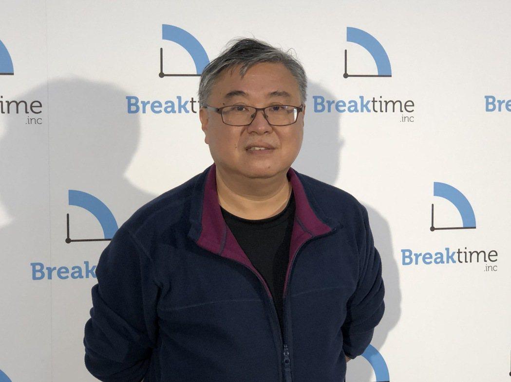富盈數據董事長葉光釗。記者蕭君暉/攝影