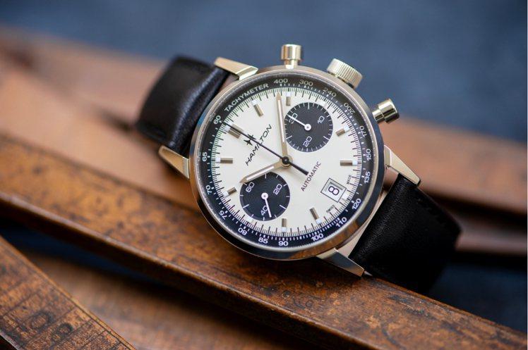 Hamilton Intra-Matic 68計時腕表,精鋼、40毫米、自動上鍊...
