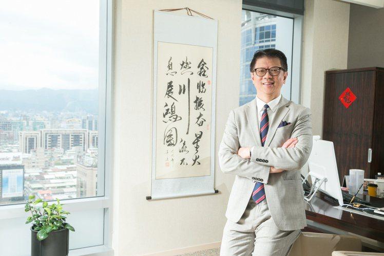 星展銀行總經理林鑫川派駐台灣短短兩年半,已對台灣巷弄美食如數家珍。攝影/陳立凱