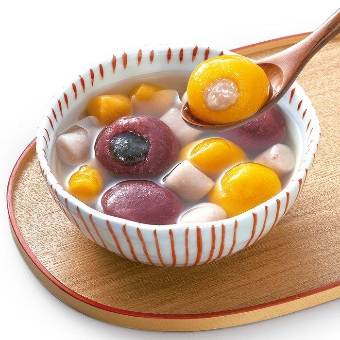 「鮮芋仙招牌雙圓」,售價219元。圖/7-ELEVEN提供