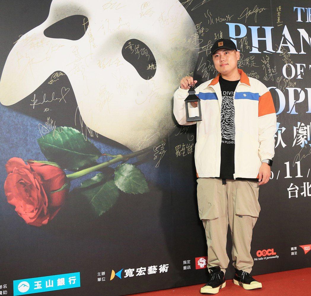 歌劇魅影開演第二周,玖壹壹洋蔥前來觀影。記者潘俊宏/攝影