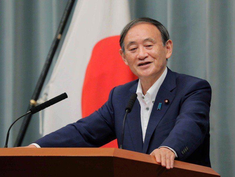 日本首相菅義偉。圖/取自歐新社