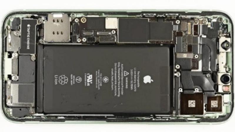 日經新聞與Fomalhaut拆解蘋果iPhone 12 Pro,發現零組件成本占比以南韓最高。 (網路照片)