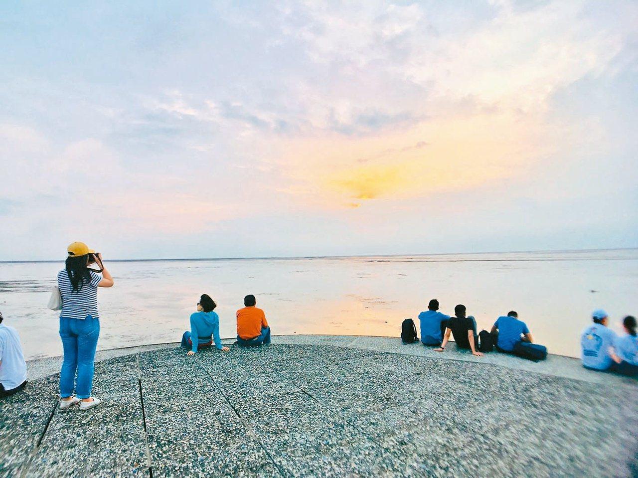 新竹市香山區賞蟹步道是新竹海線旅遊不可錯過的景點。  圖/張雅婷 攝影
