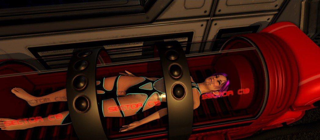 沉睡在座艙裡超過50年的薇薇安。