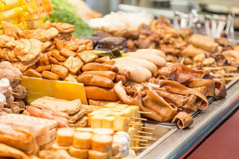 台灣人喜食經滷汁熬煮後的滷味,香氣十足又美味。示意圖/Ingimage