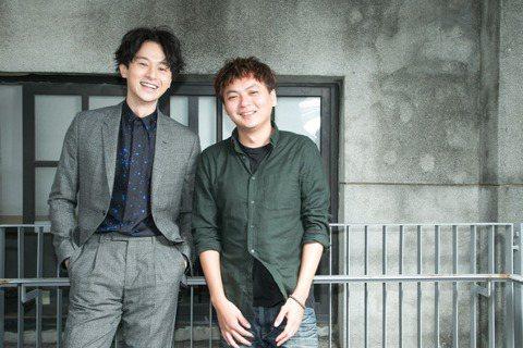 《訪客》導演蔡佳穎(右)與演員張軒睿(左)。 圖/陳立凱攝影