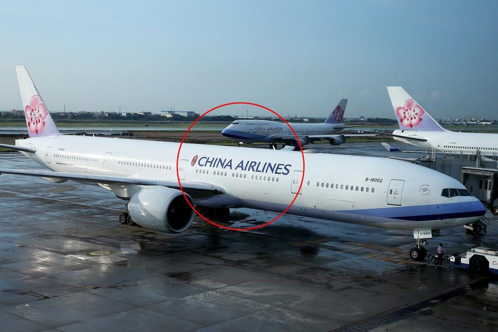 華航最新塗裝出爐 「CHINA AIRLINES」字樣大幅縮小