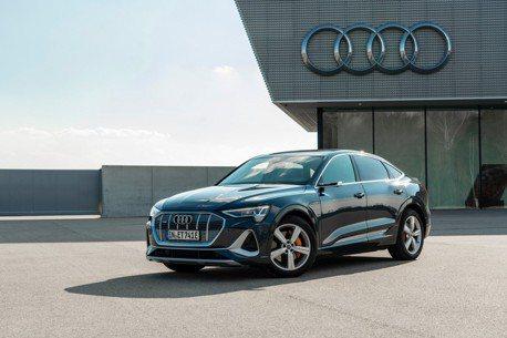 2021 Audi e-tron與-e-tron Sportback再升級 純電休旅快充更有勁!