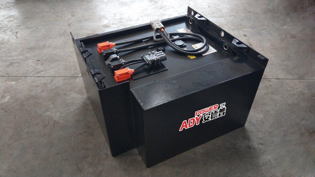 日日興自有品牌臺灣安德普鋰電池具充電快速、免維護免保養,其「免費試用」服務將可讓...
