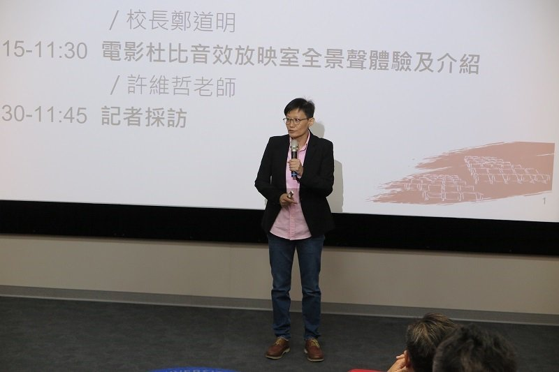 朝陽科大傳播藝術系主任安碧芸。 蔣佳璘/攝影
