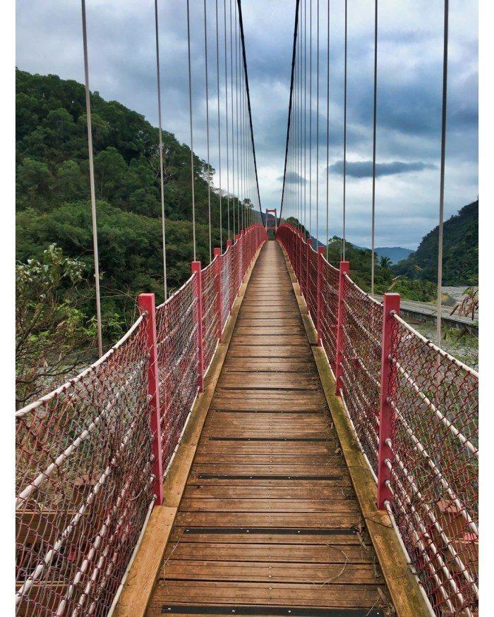 土坂吊橋。 圖/IG, outrecording