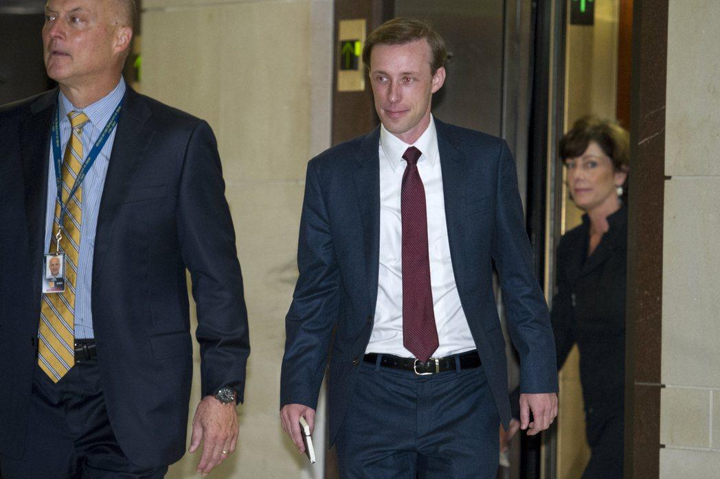 蘇利文(Jake Sullivan)擔任國家安全顧問。美聯社