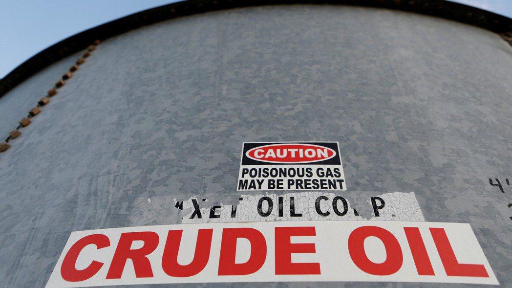 國際油價漲。(路透)