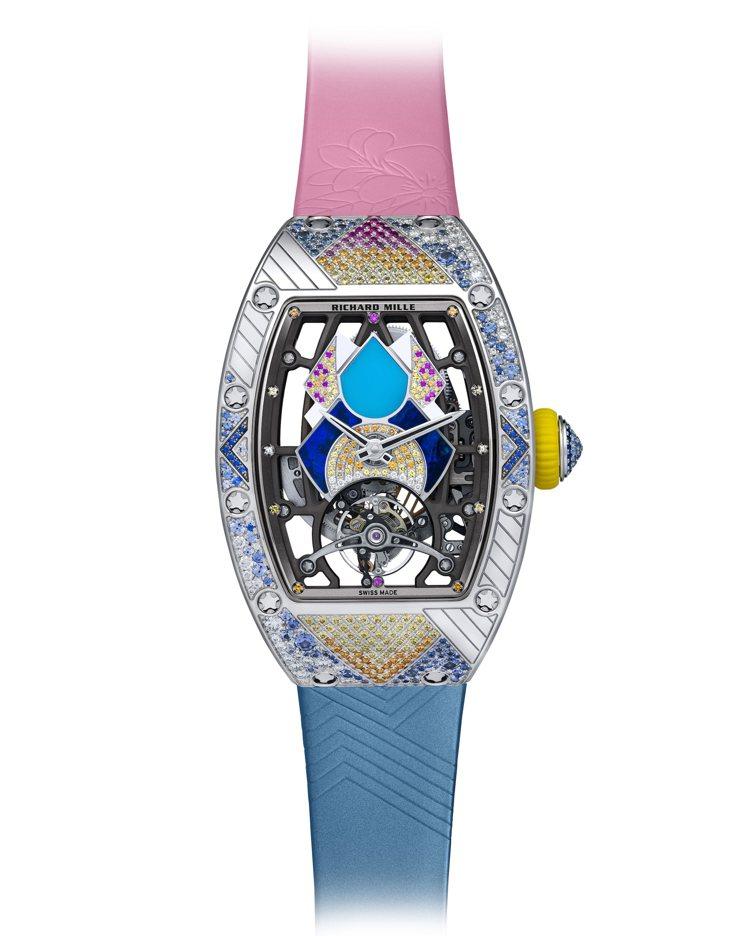RICHARD MILLE RM 71-02腕表(JANE),自動上鍊機芯、時間...