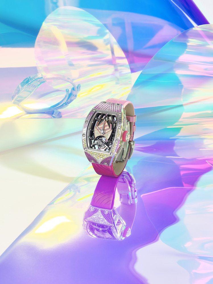 音浪、霓虹、熱力,紛紛化為十款RICHARD MILLE RM 71-02 TA...