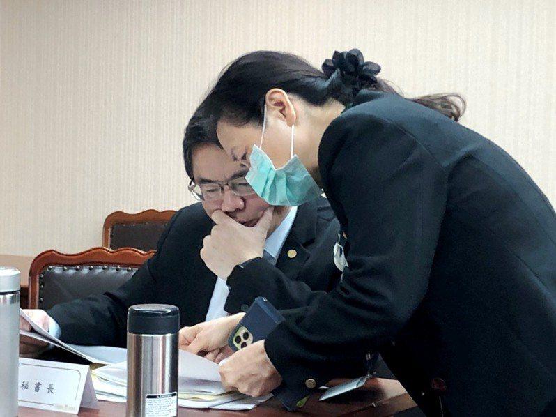 行政院秘書長李孟諺。記者賴于榛/攝影