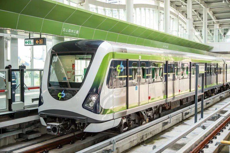 台中捷運綠線21日發生列車異常,暫停試營運。圖/台中市新聞局提供