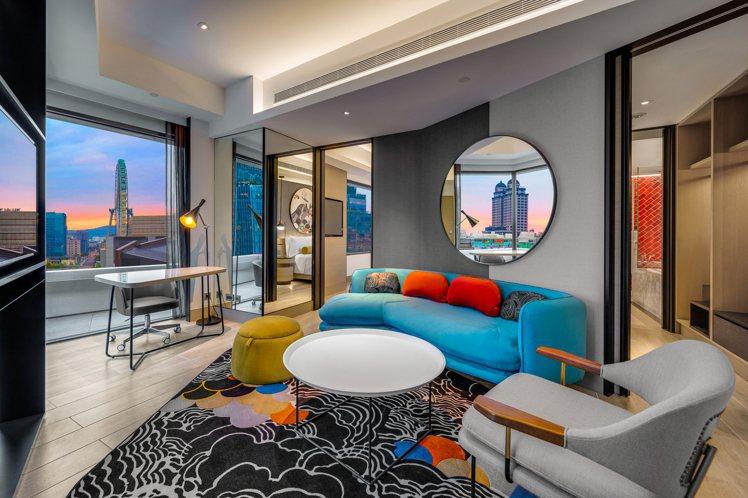 台北大直英迪格酒店推出黑五住房專案。圖/大直英迪格酒店提供