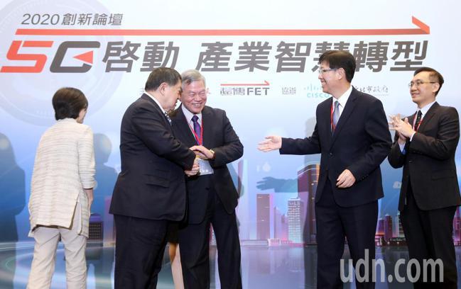 2020創新論壇「5G啟動 產業智慧轉型」上午在台北國際會議中心揭幕。台灣思科總...