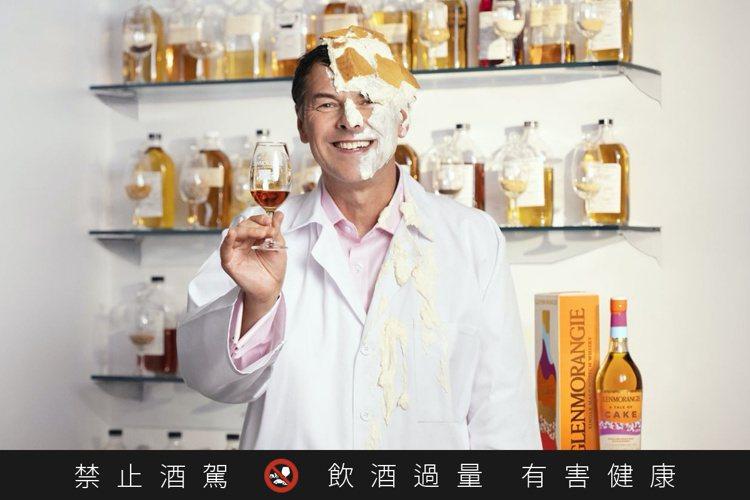 格蘭傑總製酒師比爾‧梁思敦博士。圖/格蘭傑提供。提醒您:禁止酒駕 飲酒過量有礙健...