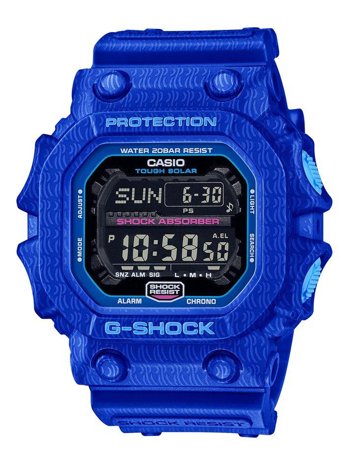 G-SHOCK跨界Jahan Lo系列GX-56SGZ-2腕表6,500元。圖/...