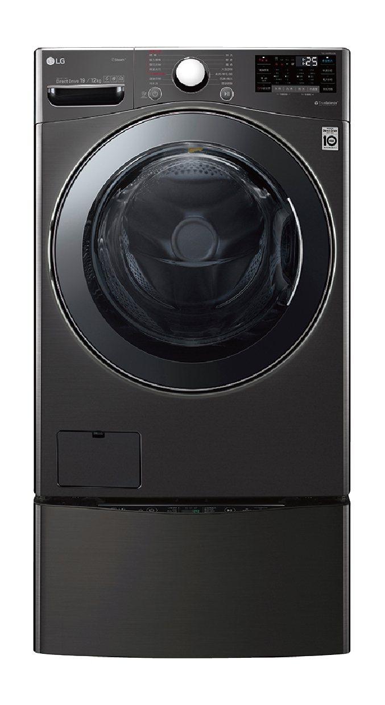 LG TWINWash雙能洗指定機型,回函原廠送寬庭床包5件組,全國電子加碼送獨...