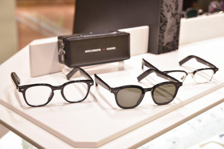 Gentle Monster與手機大廠華為合作,推出優化版本的第二代智能眼鏡,直...