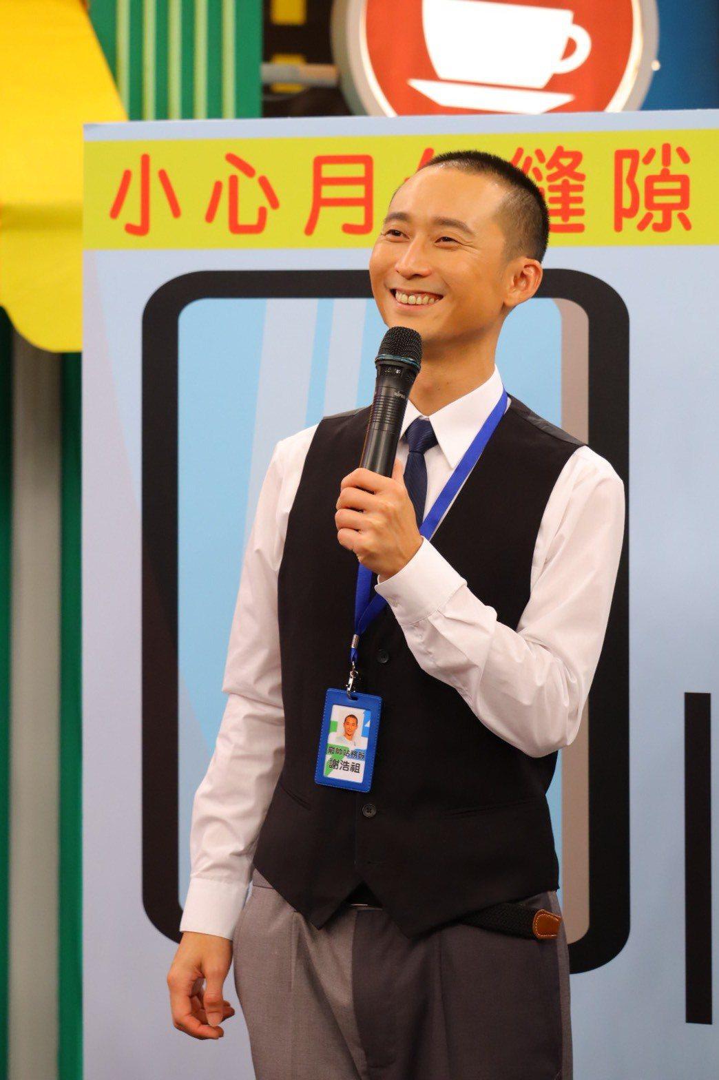 浩子最近發片,勤跑通告宣傳。圖/衛視提供