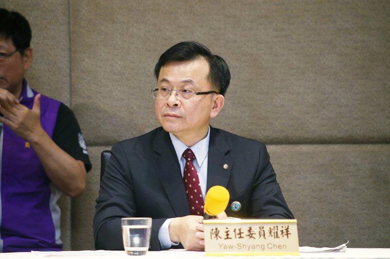 NCC日前決議中天新聞台不予換照後,主委陳耀祥向外界喊話盼給公廣集團「一個機會」。圖/本報資料照片