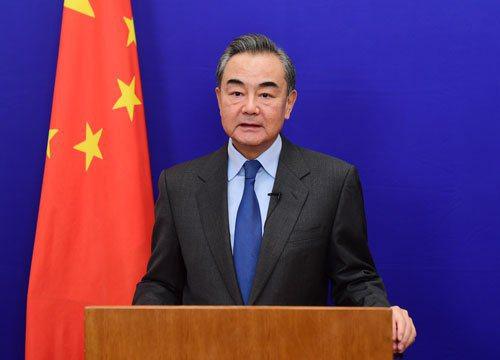 大陸外長王毅。圖/陸外交部官網