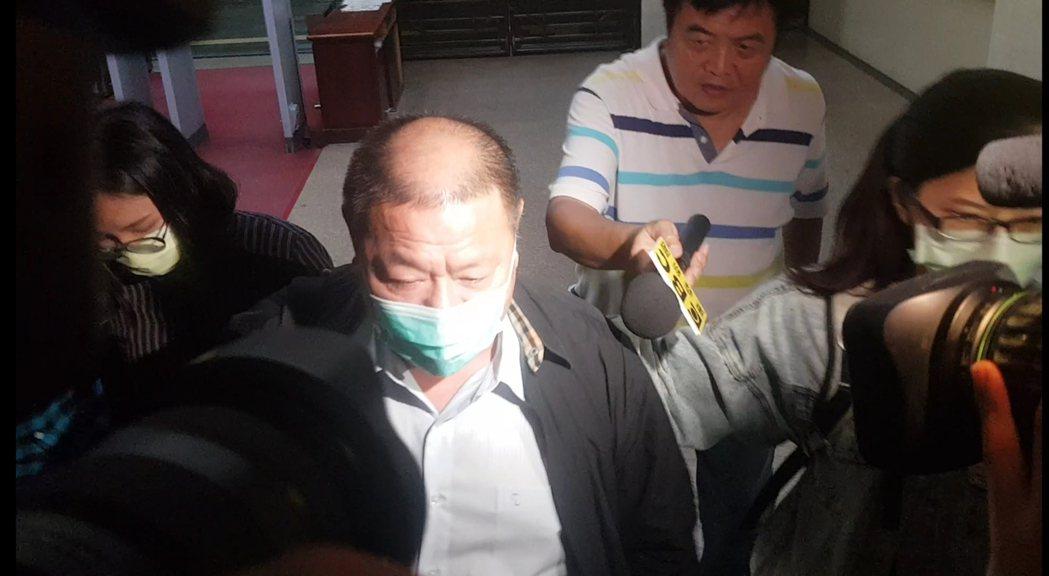 台南國際開發總裁楊志強。記者張宏業/攝影