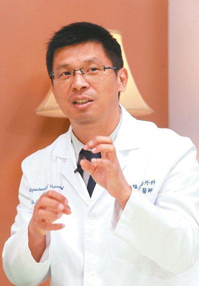台安醫院外科部主任糠榮誠。記者黃義書╱攝影