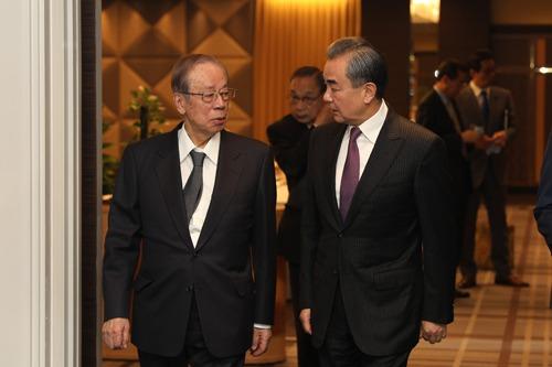 王毅談釣魚台:中方堅定維護主權 並提出3點希望