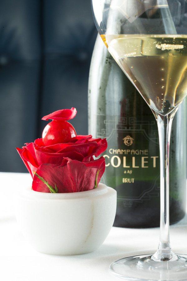 香檳是吃西餐時很好的開胃酒。提醒您:禁止酒駕 飲酒過量有礙健康。 圖/陳立凱 攝...