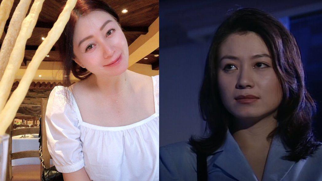 趙英華當年演出「台灣靈異事件」(右),如今52歲的她美貌依舊。圖/擷自IG、Yo