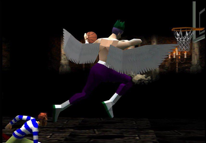 有翅膀的翼人 LUKA 在故事中被設定為是一名墮天使,遊戲中他擁有可以直接在空中...