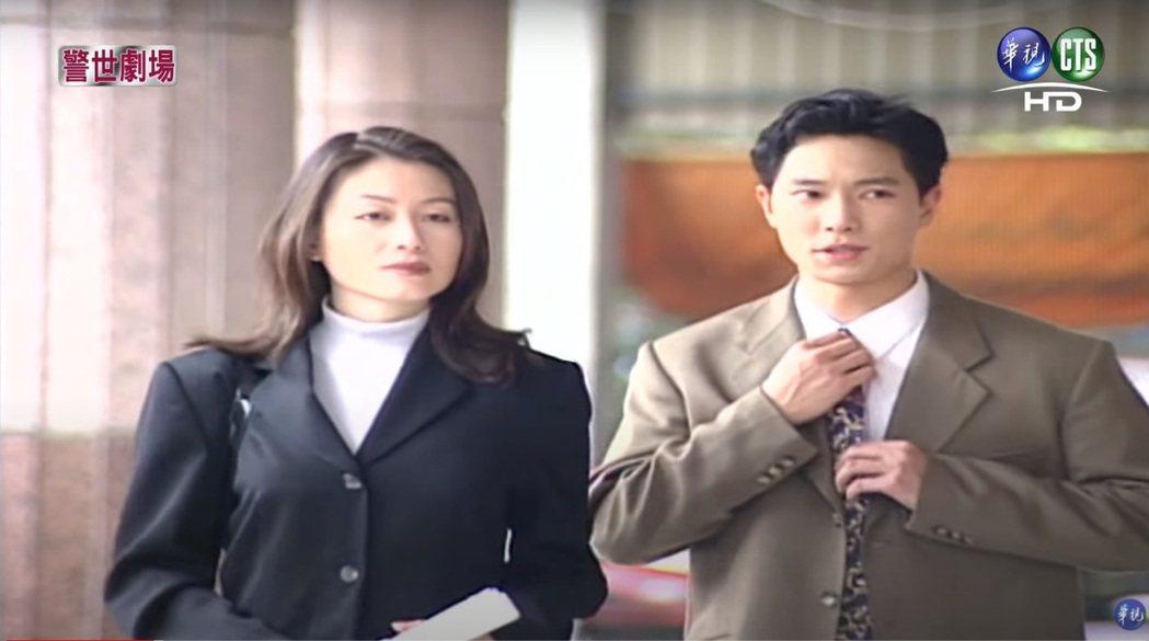 趙英華當年與謝祖武搭檔演出「台灣靈異事件」。圖/擷自YouTube