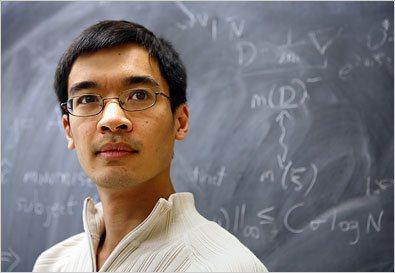 31歲的陶哲軒是當今世界頂尖的數學家。(取材自紐約時報)