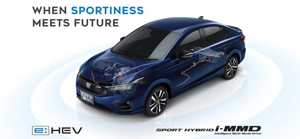 1.5 Sport Hybrid i-MMD複合動力系統,具有109hp/25....
