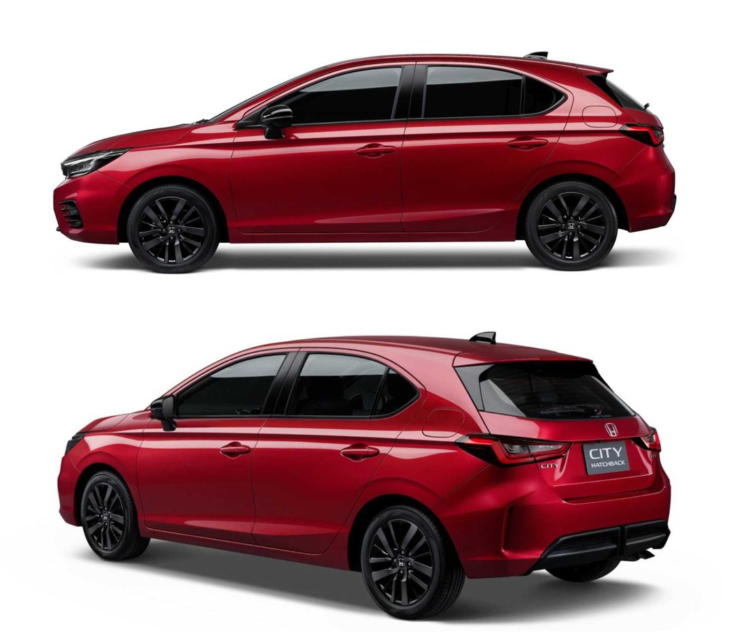 B柱後的掀背造型要比Sedan多了些俐落感。 圖/Honda Thailand提...