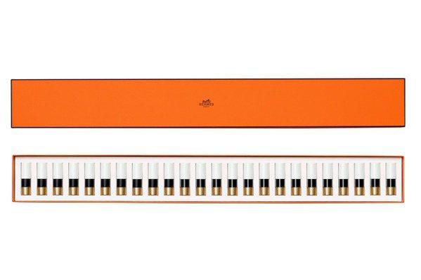 Rouge Hermès鋼琴24色唇彩禮盒。 圖/愛馬仕提供