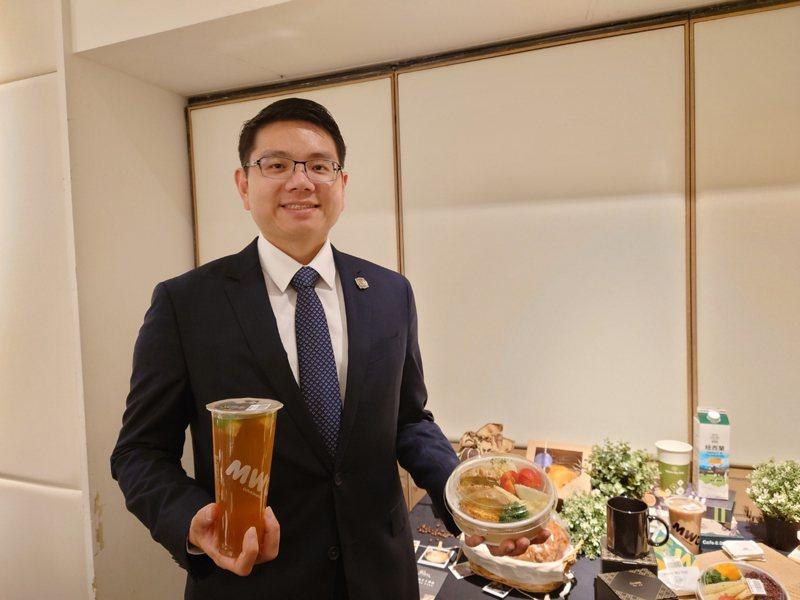 揚秦執行長卓靖倫指出,要全力推動「麥味登」成為世界最受歡迎的國民經濟美食品牌。記者黃淑惠/攝影
