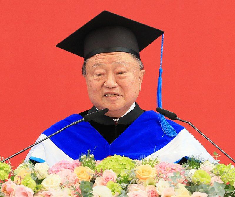 台達電創辦人鄭崇華。記者潘俊宏/攝影